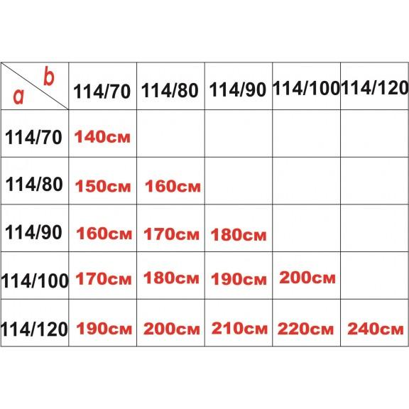 Shower screen » ICS 114FS/120