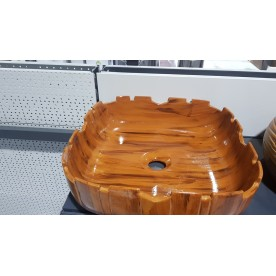 Porcelain wash basin