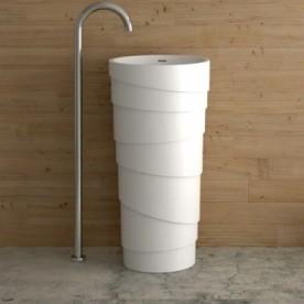 MASSIVE Washbasin with Bathroom cabinet - ICB 4547