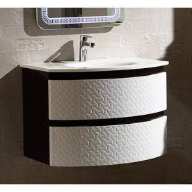 Bathroom cabinet ICP 8055 B+ W