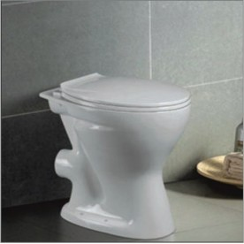 Standing toilets