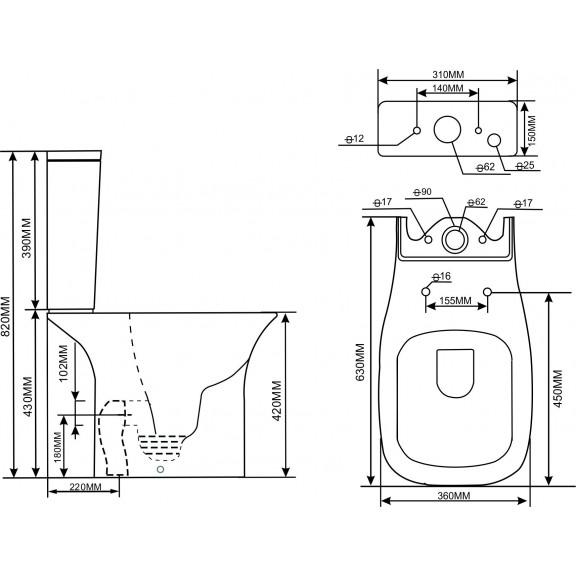 WC Set ICC 6383P