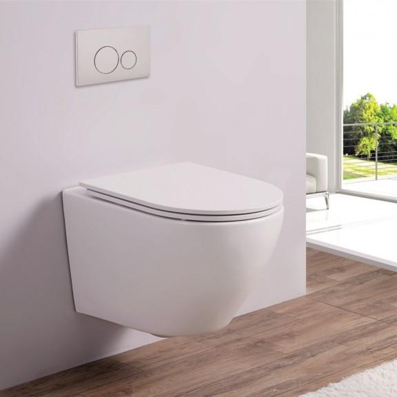 Стенна тоалетна чиния  ICC  4937W