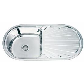 Кухненска мивка алпака ICK 10048BR