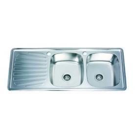 Кухненска мивка алпака ICK 12050 SSL