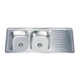 Кухненска мивка алпака ICK 12050SSR