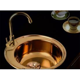 Kitchen sink ICK 4949U BRONZE