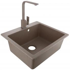 Granite sink ICGSF 8251 SAND