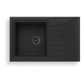 ICGS 8104  BLACK Granite Sink