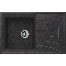 ICGS 8104  BLACK Granite Sink