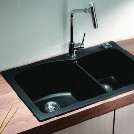 ICGS 8401 BLACK Granite Sink